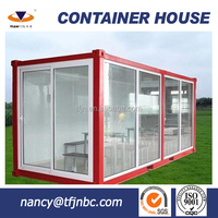 Low Cost Prefab Movable 20ft Container House