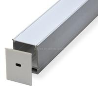 New Design LED aluminium edge profile for kitchen cabinet