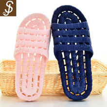 S&J high quality and free sample pu soft anti-slip bath slipper