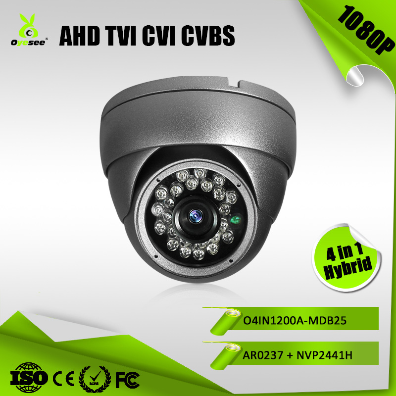 2MP 1080P 25M IR Distance Hybrid 4 in 1 AHD TVI CVI CVBS small used cctv cameras videos for sale