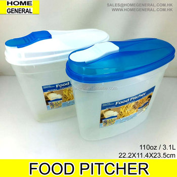 STORAGE GENERAL,PLASTIC STORAGE CONTAINER WITH LID,FOOD PITCHER,