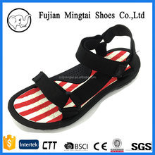 new design ribbon sport kito slide sandals for lady