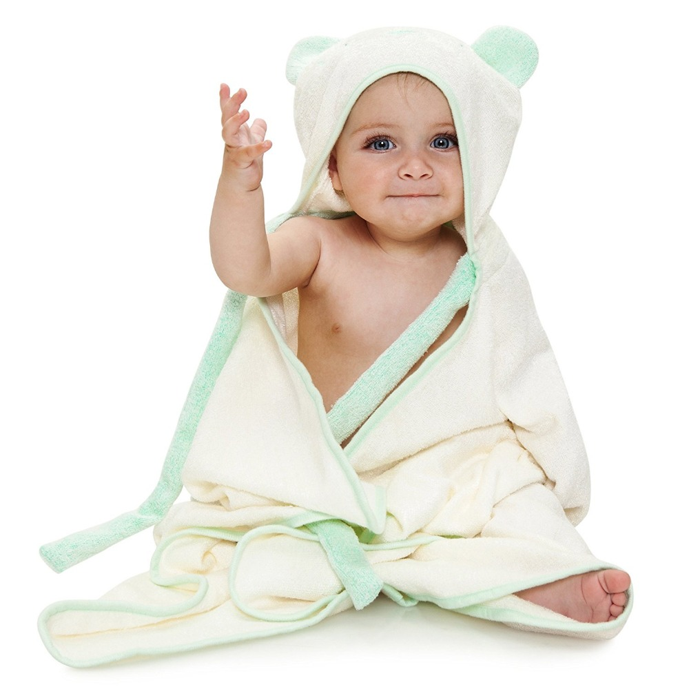 2017 best selling hooded children bath towels with low price