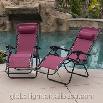 Rest Camping Pool Deck Lounger Chair Party Use Chair