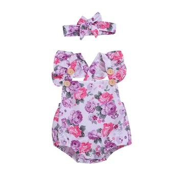 china clothes children fashion kids romper design sleeveless sling girls rompers