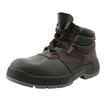 2018 new collection genuine leather work safety shoes for men