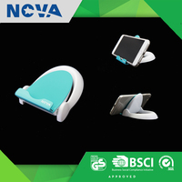 Promotional item android plastic cell phone stand table holder
