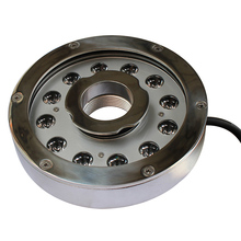 outdoor project use 3in1 4in1 submersible fountain led lights ip68 ring dmx led fountain light