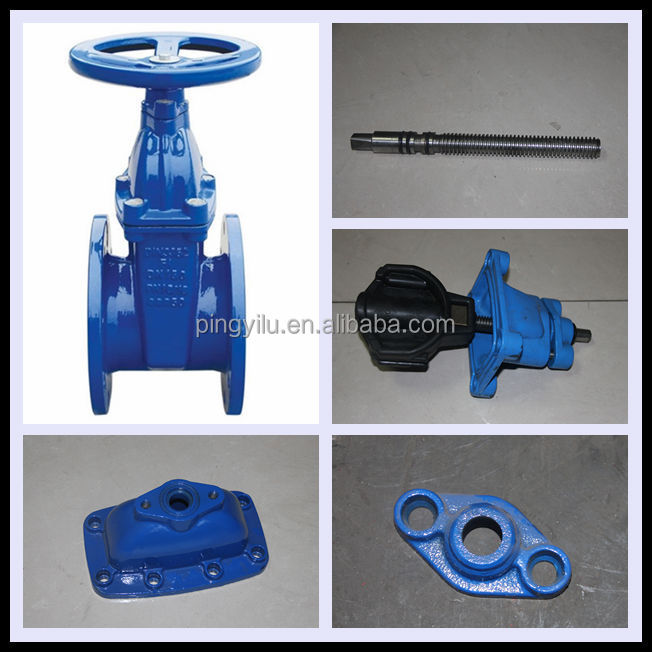 handwheel non-rising stem cast iron gate valve