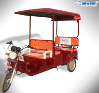 indian electric three wheel passenger rickshaw
