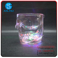 Factory Wholesale Led Light Up skull High Quality Product LED Straw Cup