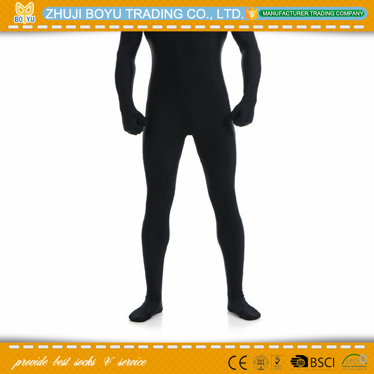 BY-T-0340 mens full body tights