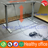 Height adjustable desk of use at a treadmill desk & motorized adjustable height table legs &desk with up and down