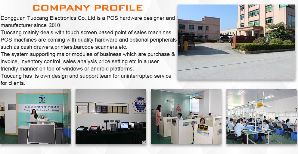 Factory price 15 touch screen  pos system all in one Android
