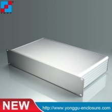 YGH-001--2u 482*89*250 mm small extruded aluminum enclosure for electronic