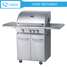 High quality Custom made stainless steel 304 barbecue grill machine