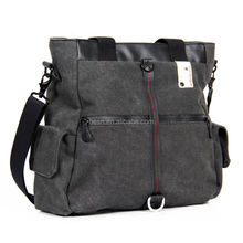 Leisure Canvas Waterproof bag camera Laptop Shoulder bag ladies bag