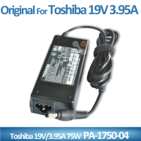 New 19V 3.95A 75w New laptop Charger Adapter For Toshiba A300 C650 L500 C655