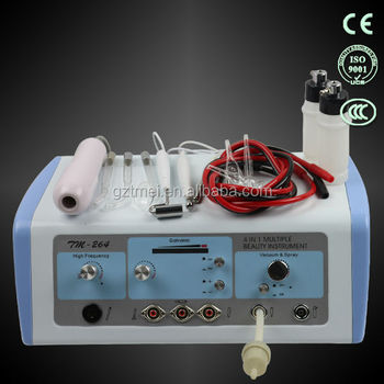 Home use facial galvanic high frequency skin care machine