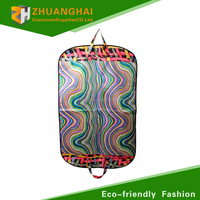 polyester garment bag printed wedding dress garment bag wholesale