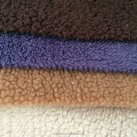 2015 hot selling 100% polyester coral fleece sherpa fleece fabric for Baby Blanket, cushions, pillows