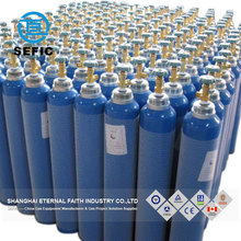 40 Litre capacity oxygen gas cylinder for medical with cap