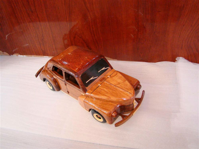 anticque Wooden model Car