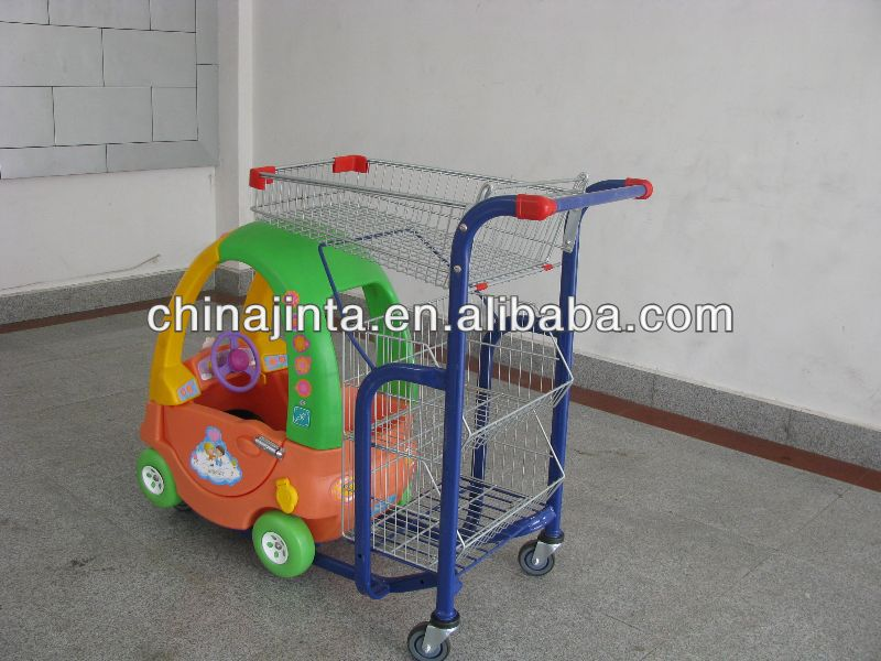 insulated shopping trolley/ cooler shopping cart with bag