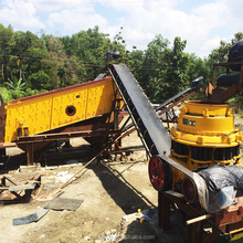 Construction waste crushing machine equipment production line aggregate quarry crusher complete stone crushing plant