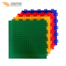 High quality plastic pp interlock portable outdoor basketball court flooring tiles