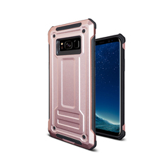 2018 Hot selling colorful protective shockproof tpu+pc back cover phone case for Samsung S8 case