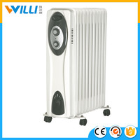 Low price electric mini bathroom oil filled heater