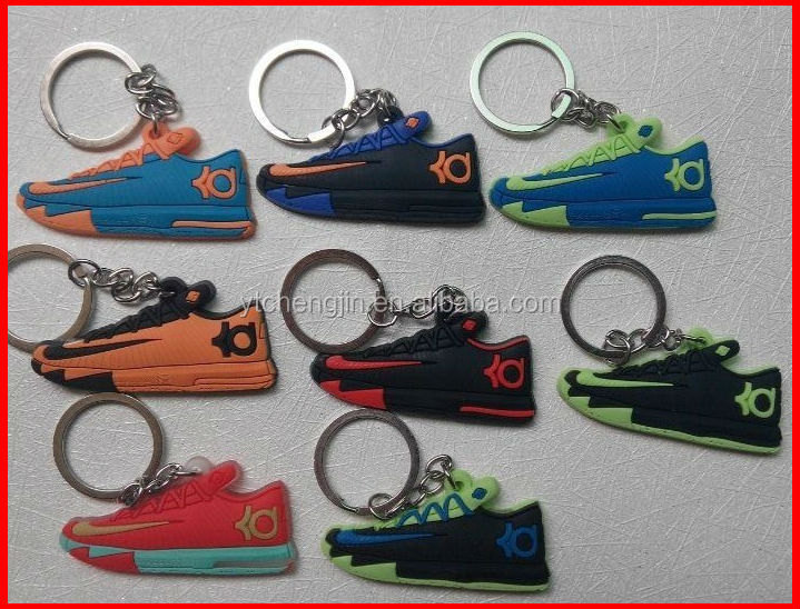 Kevin Durant kd shoes soft rubber keychains