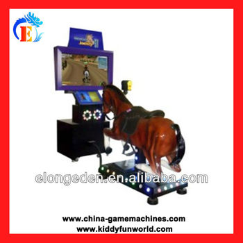 Original IC board horse riding video racing game machine