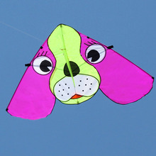 cartoon dog kite,single line kite