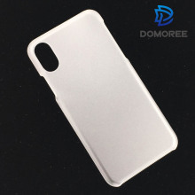 Popular design white Single bottom frosted PC phone case for iphone 8