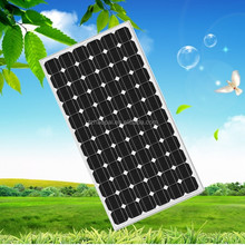 Outdoor Sunlight Conversion 250W Efficient Mono Cells Curved Solar Panel For Boat