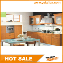 Yekalon latest hot sale pvc high gloss acrylic kitchen cabinet door
