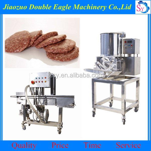 meat pie hamburger patty forming machine/machine to make meat pie/burger chicken patty machine