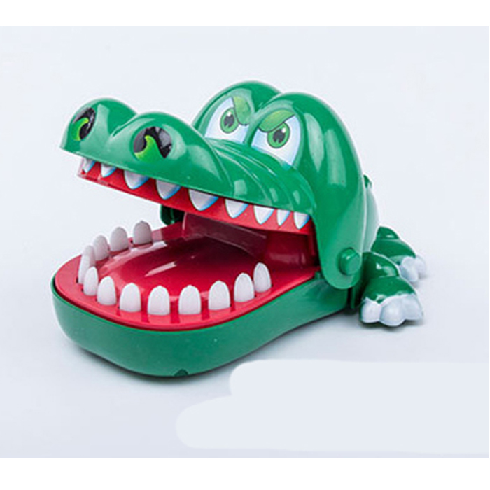 Cool plastic crocodile dentist toy brick <strong>game</strong> for sale