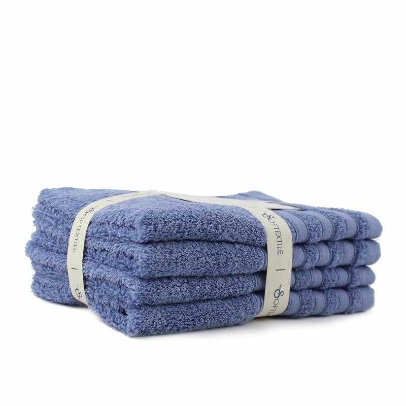 Wholesale Solid Color Cotton Soft Baby Face Towels Baby Towel
