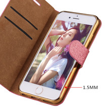 Mobile phone accessories factory in china flip leather case for iphone 4