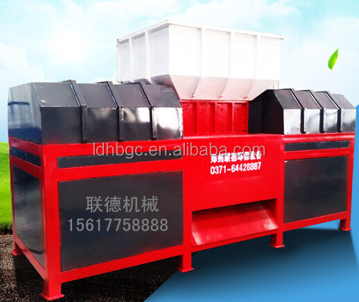 China fully automatic pvc shredder with tube blade sharpener on Alibaba