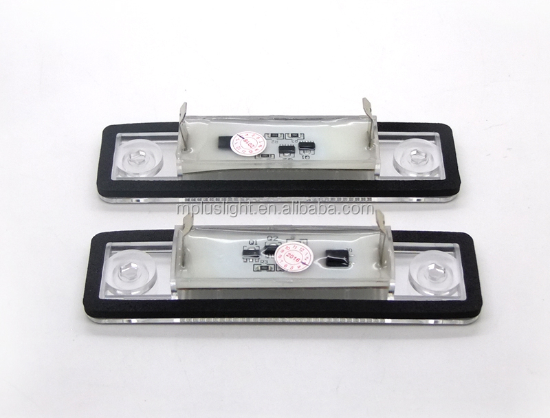 For Opel Astra H License plate lamp after 98 to 2005 year LED light for car LED Lamp