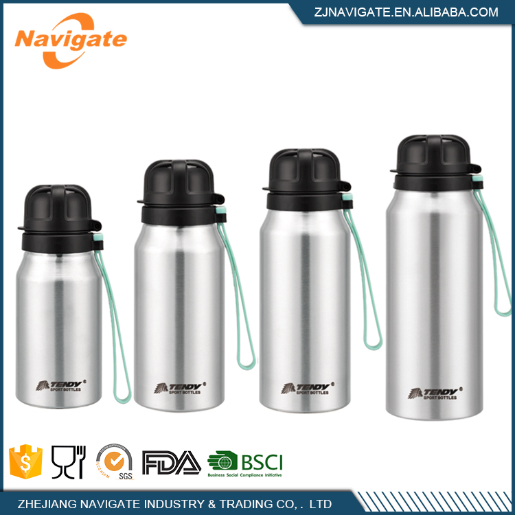 24Oz Insulated Aluminum Water Bottle With For Sports