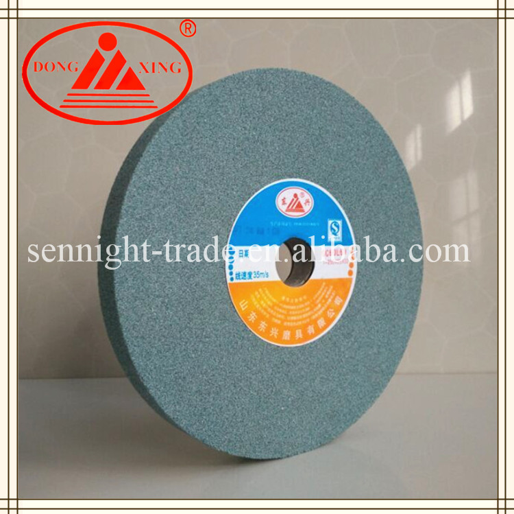 DONG XING Green Silicon Carbide Bench Grinding Stone