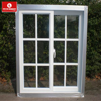 China windows manufacture Australia standard used UPVC glass sliding windows and doors for sale