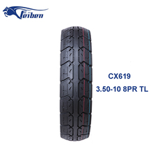 China Motorcycle Tire Manufacturer For Scooter Tire 3.50-10