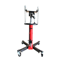 2 stage telescopic truck hydraulic transmission jack with foot pedal for trucks