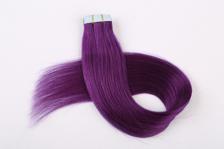 Wholesale Cheap European 100% virgin human hair extensions in dubai double sided remy cuticle tape hair